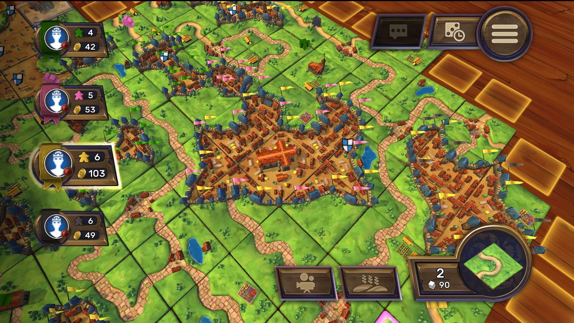Carcassonne PC Game