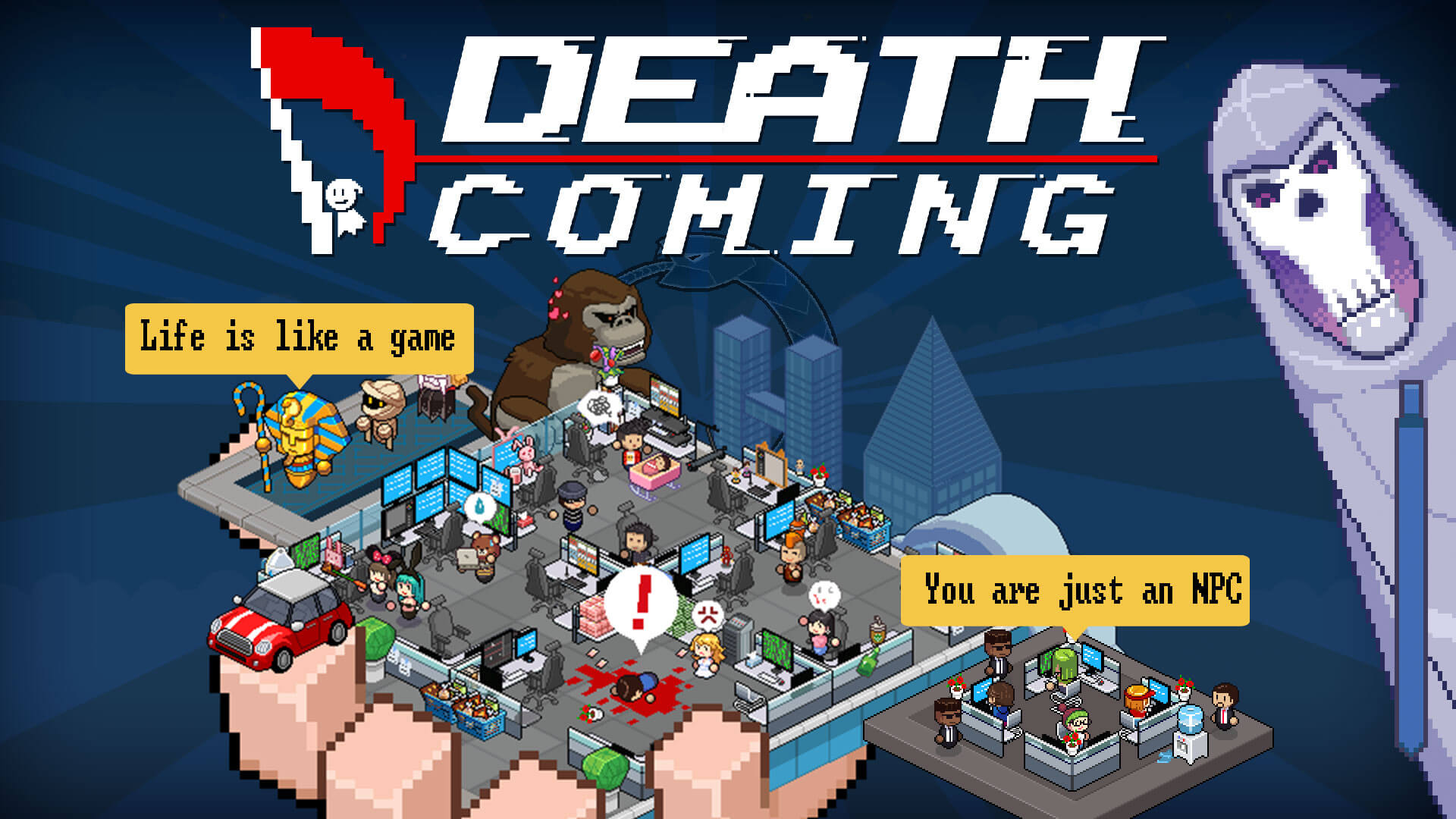 Death Coming Image