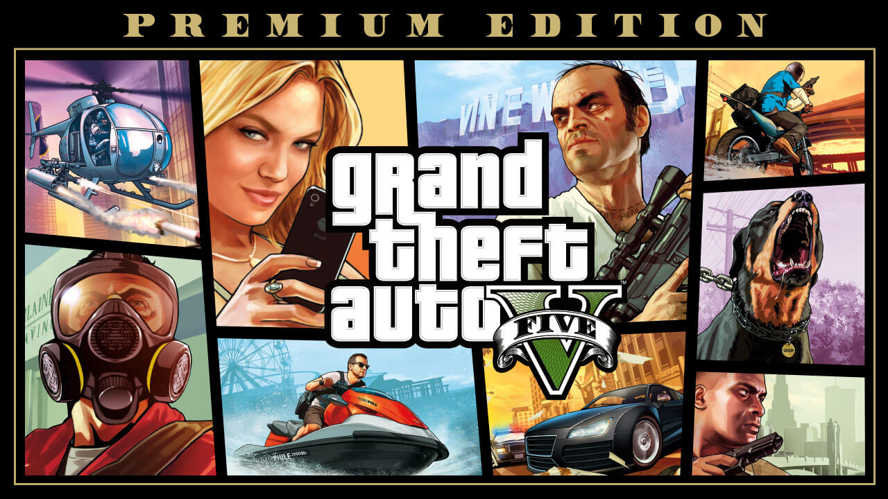 GTA 5 EGS premium /  premium for steam (RS) GTA 5 (Account)