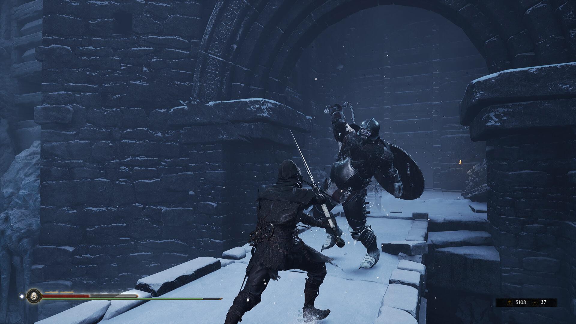 el combate es durísimo al jugar Mortal Shell jugar