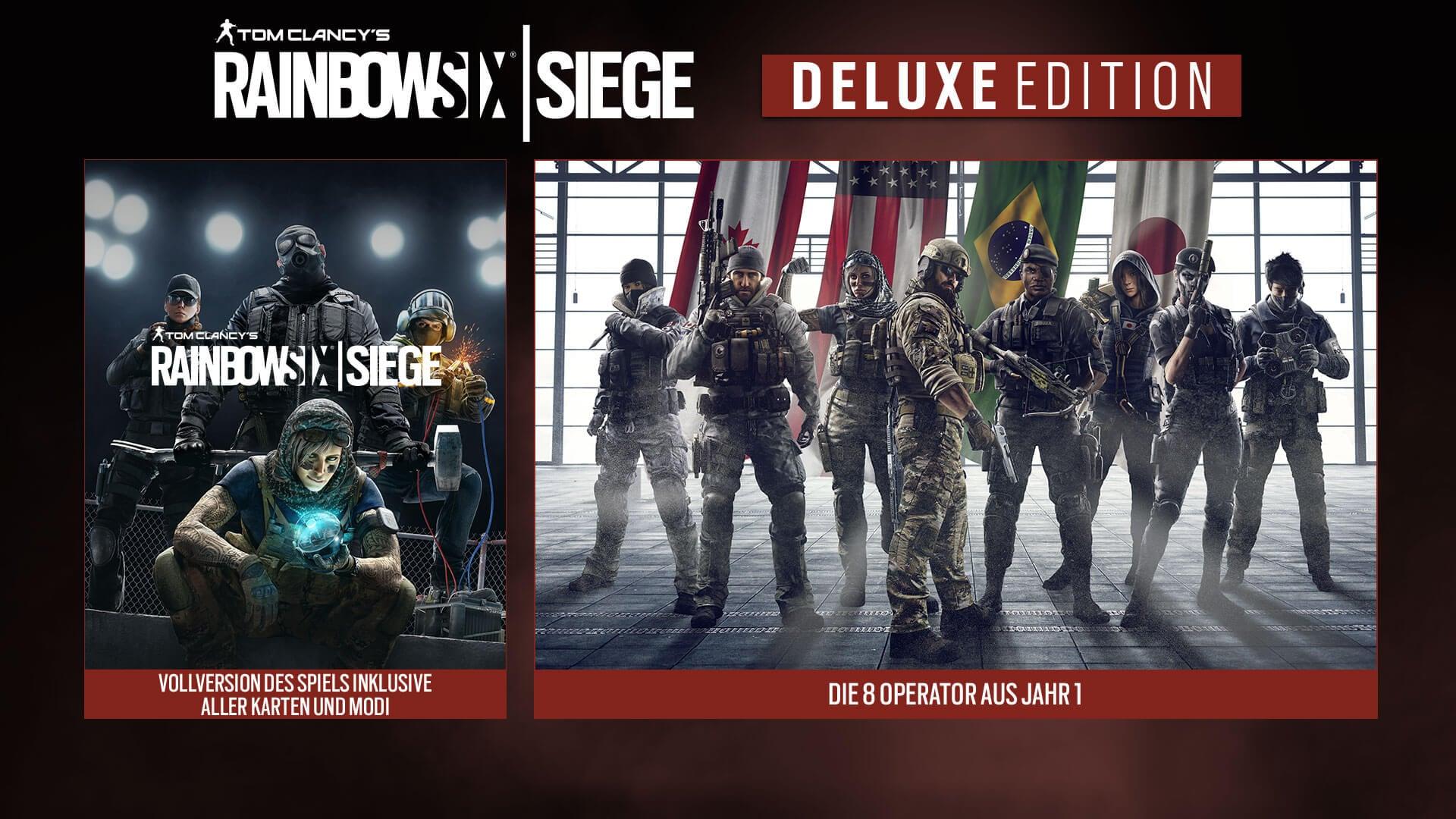 Rainbow Six Siege Deluxe Edition