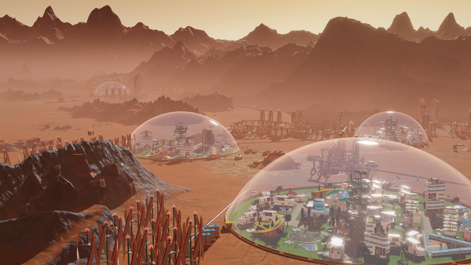 Mars Leben
