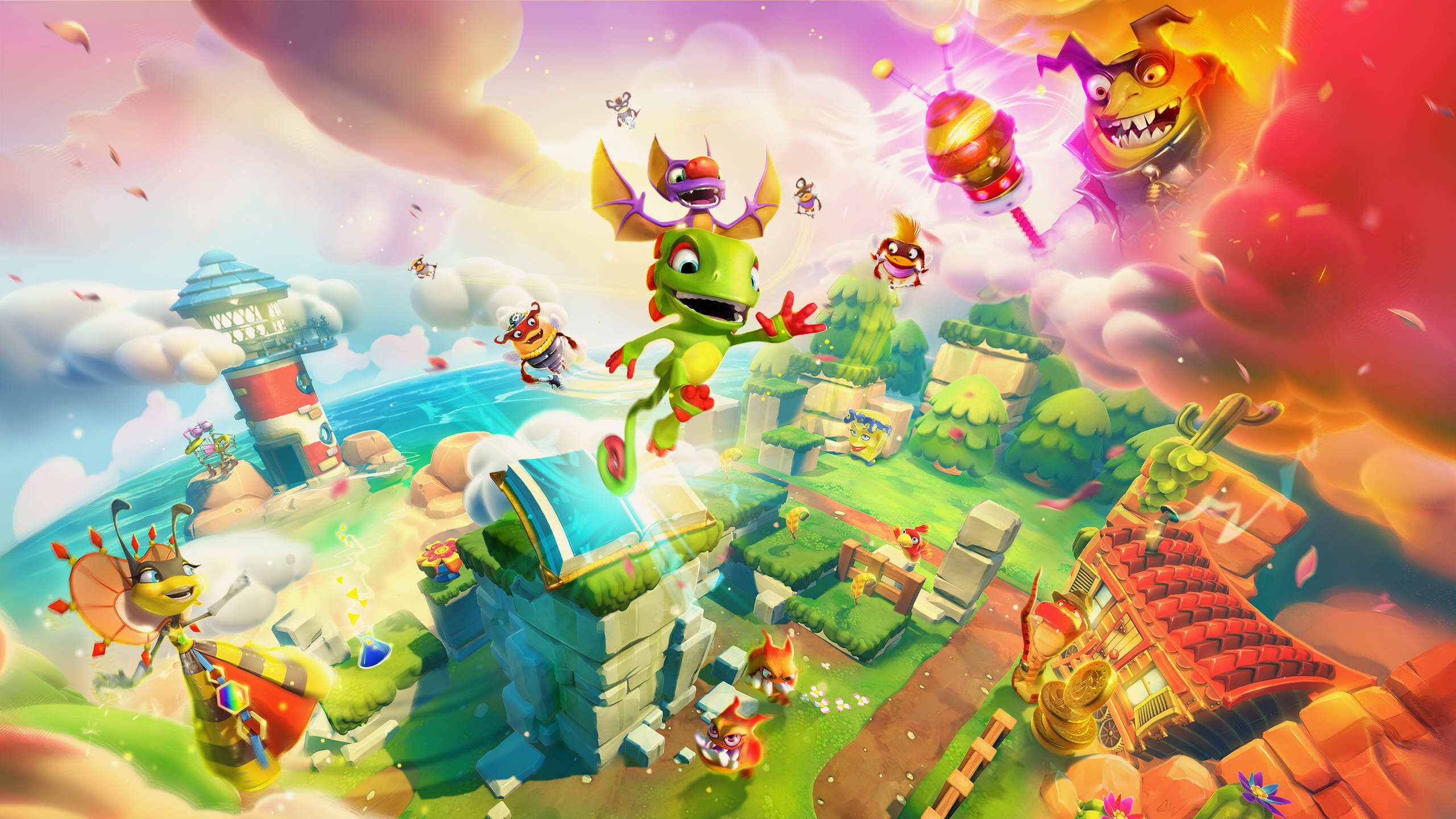 Yooka-Laylee and the Impossible Lair - Yooka and Laylee return for a platform hybrid adventure