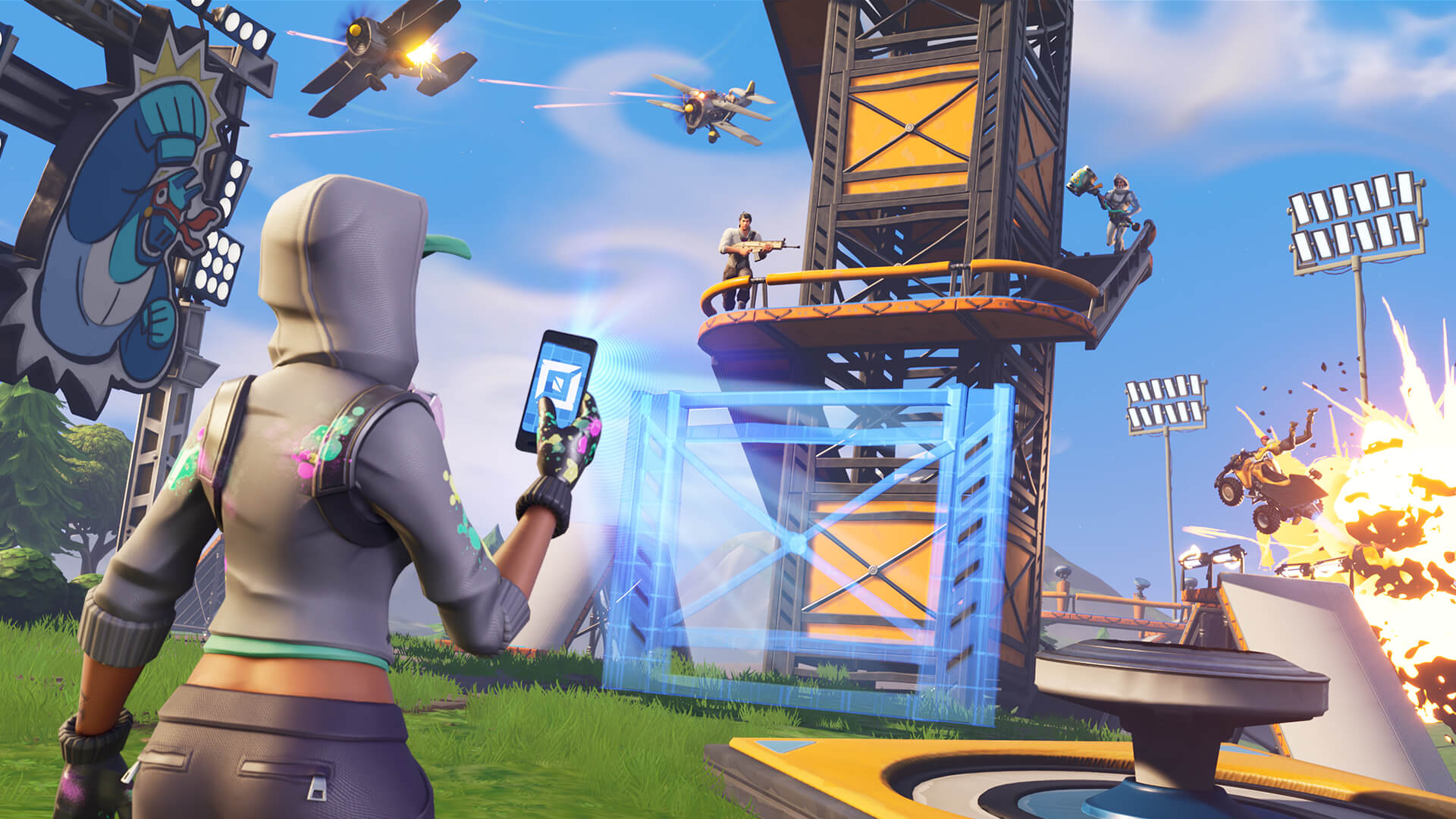 - fortnite play android