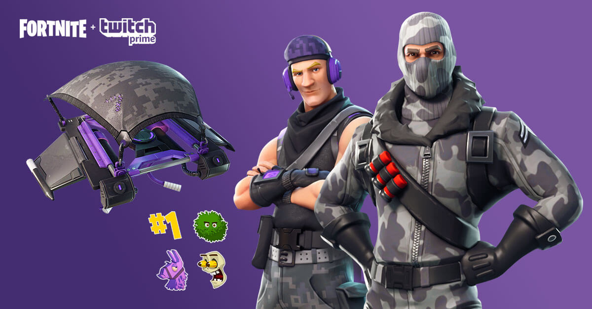 Twitch Prime Pack