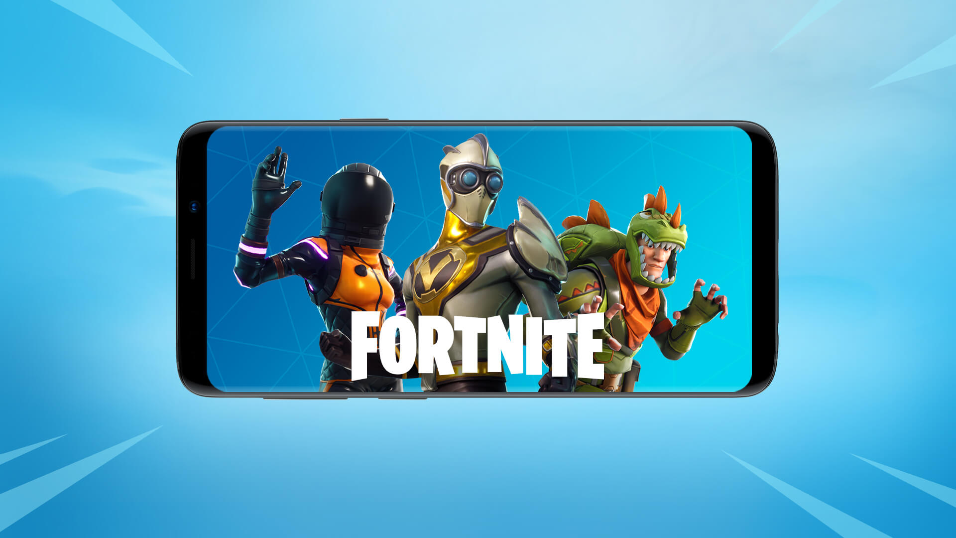 - epic games fortnite smartphone