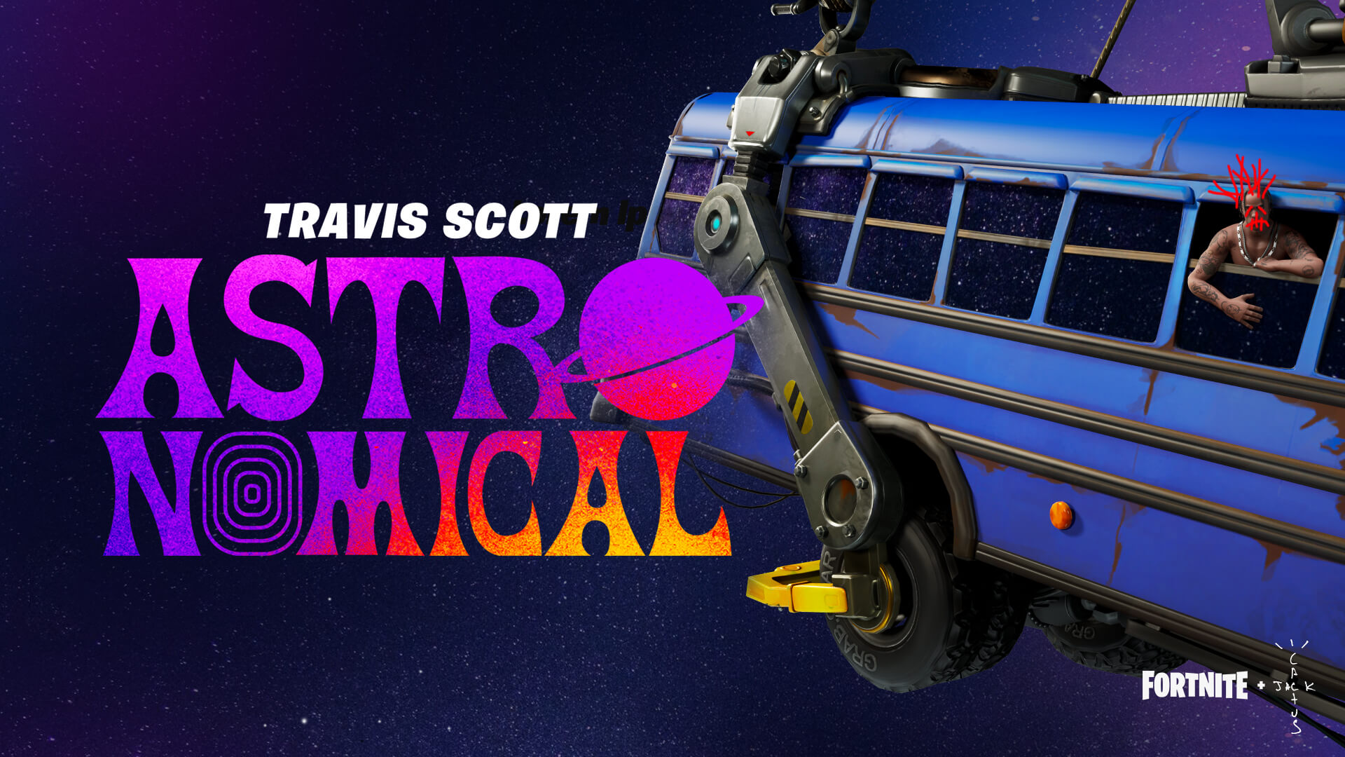 Announcing the Fortnite and Travis Scott Event: Astronomical