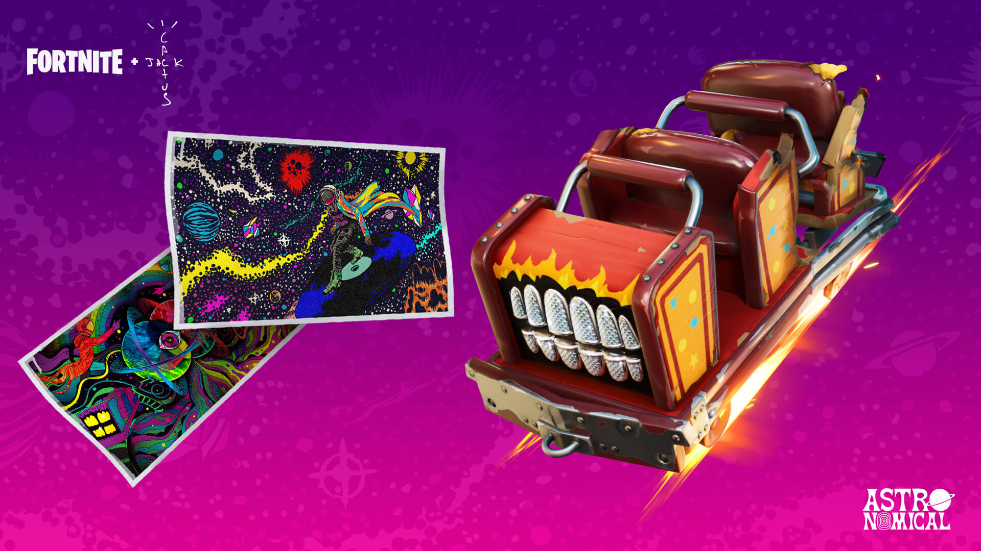 Fortnite Astroworld Cyclone Glider