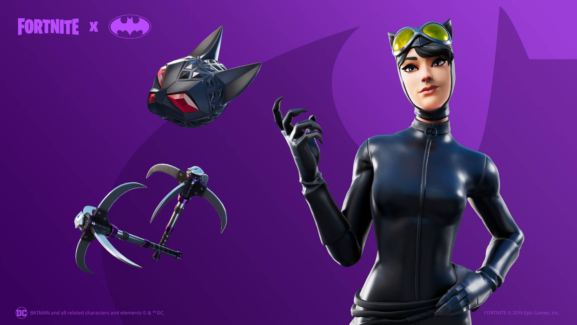 Fortnite Catwoman Outfit