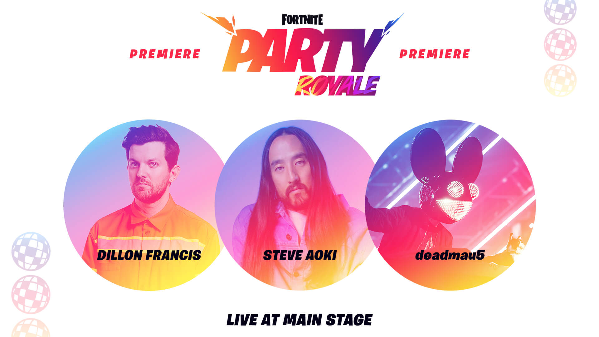 Dillon Francis Steve Aoki And Deadmau5 Invite You To The Party