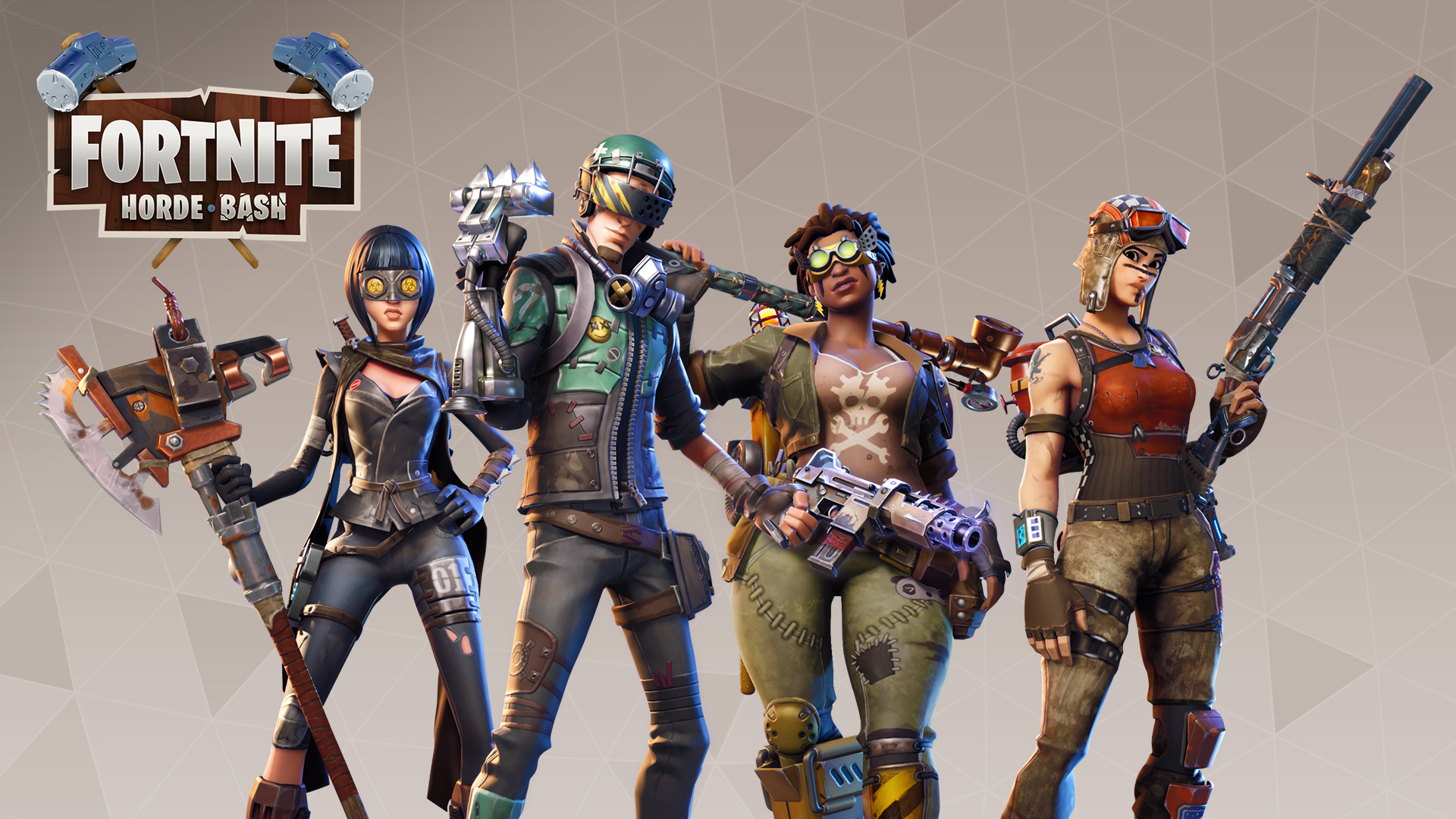 Horde bash update 1 7 patch notes - Fortnite save the world wallpaper ...