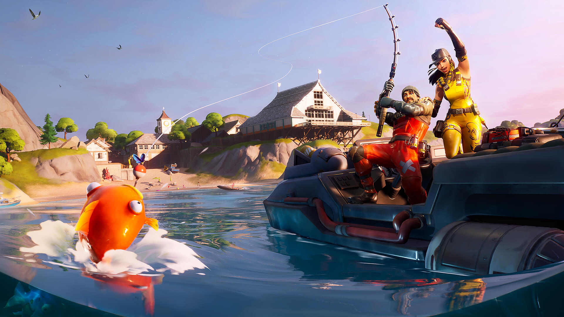 Fortnite Triggerfish Fishing Frenzy