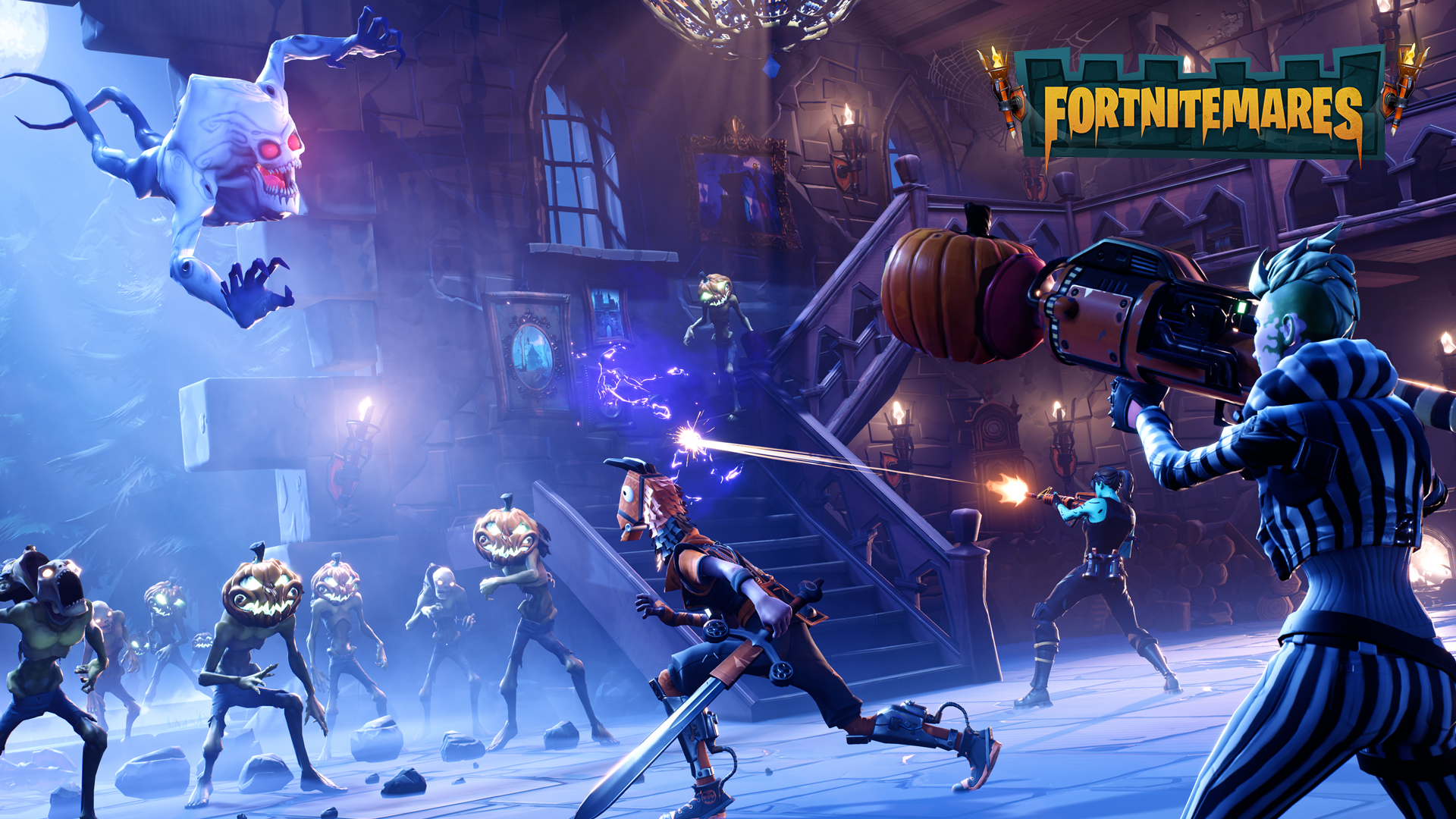 Fortnitemares update 1 8 patch notes - Fortnite save the world wallpaper ...