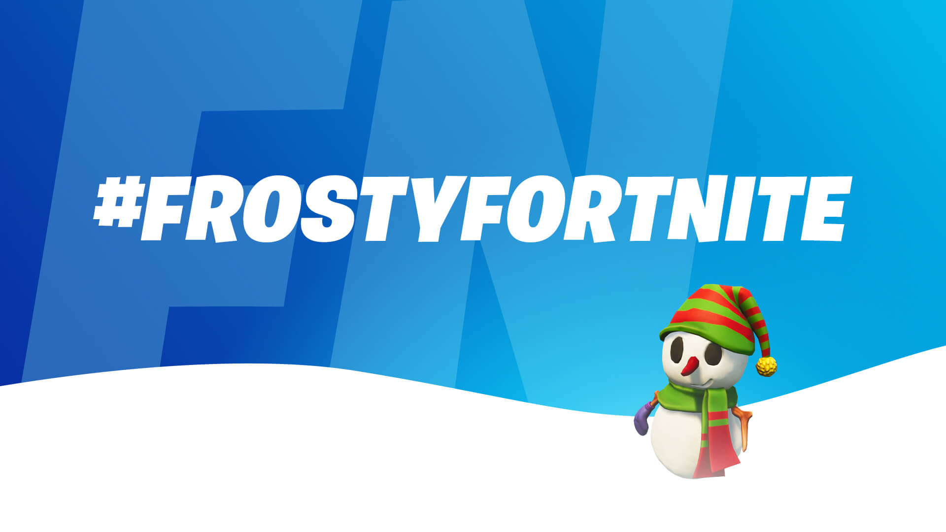 Frosty Fortnite