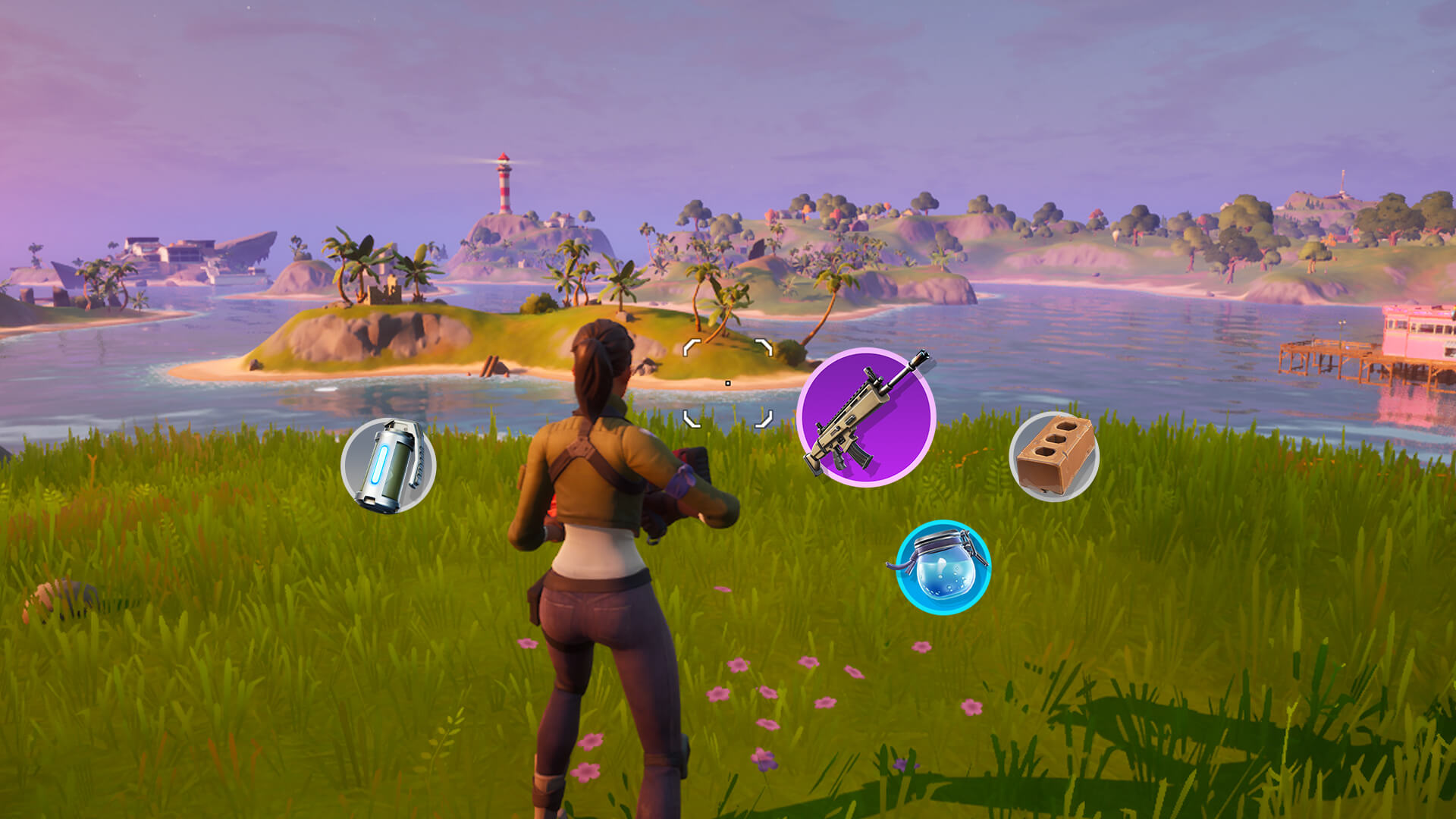 Fortnite Mobile Touch Controls and Interactions