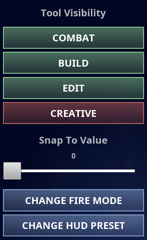 Fortnite Mobile HUD Layout Tool