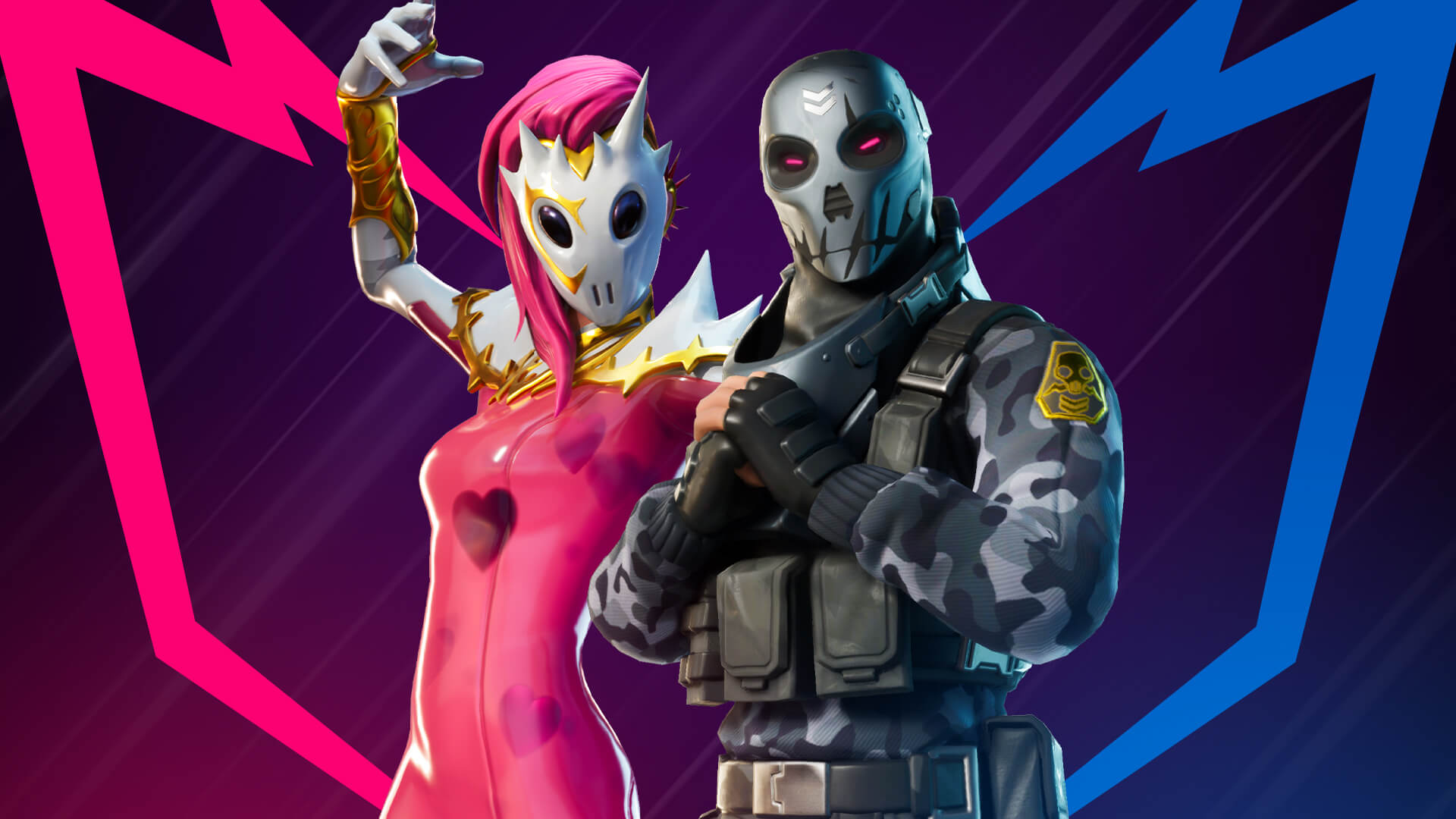 Fortnite Thorn and Metal Mouth Outfits