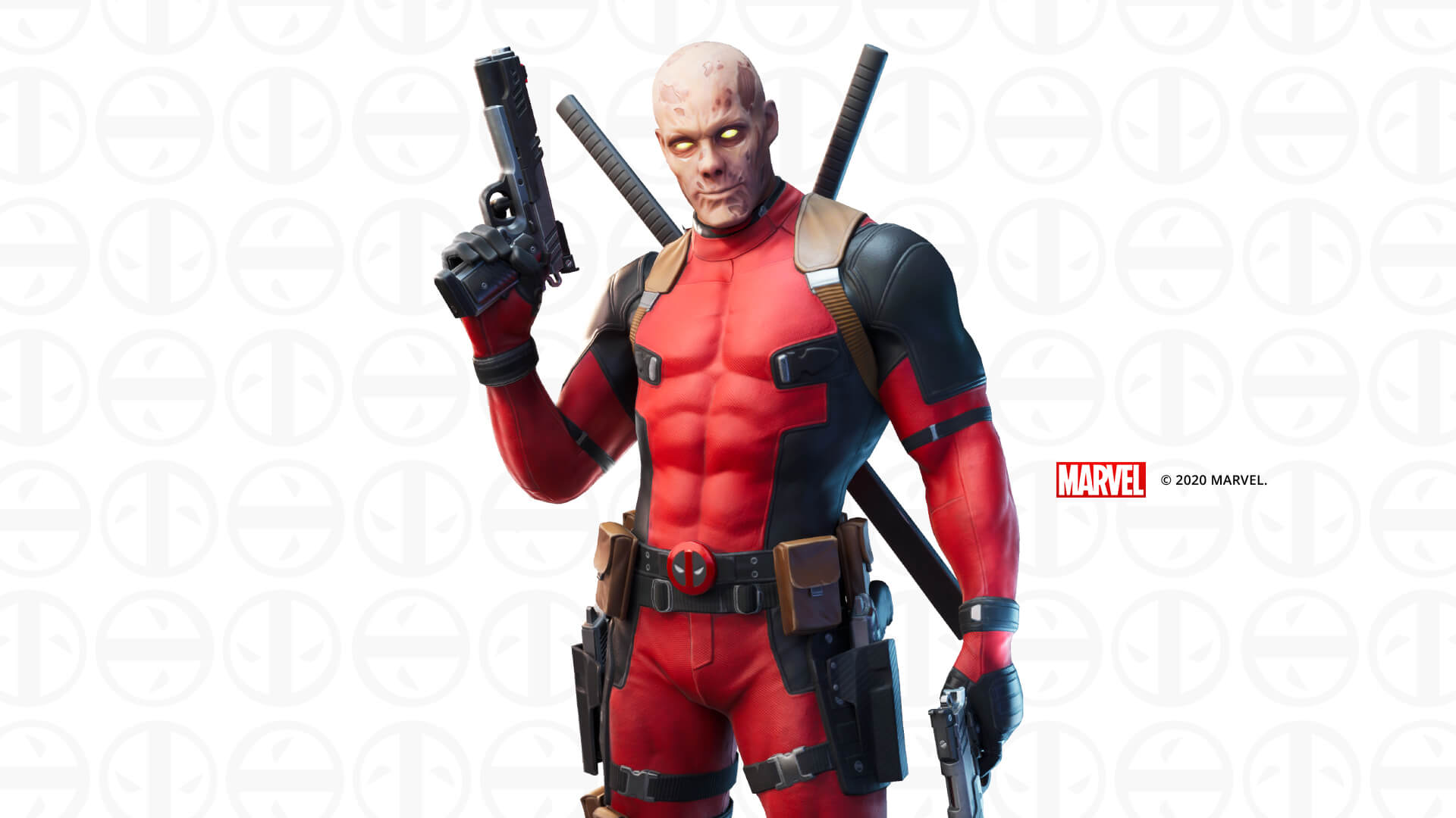 Fortnite Deadpool Unmasked Outfit