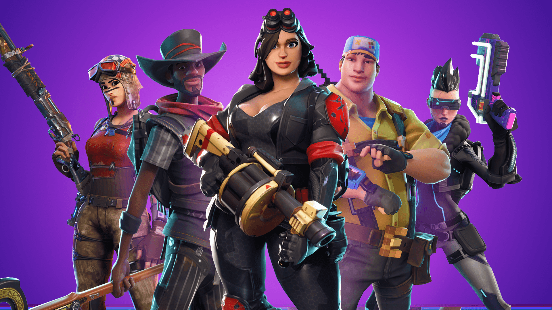 Fortnite cosmetics can be purchased at the official store. (Image: Epic Games)