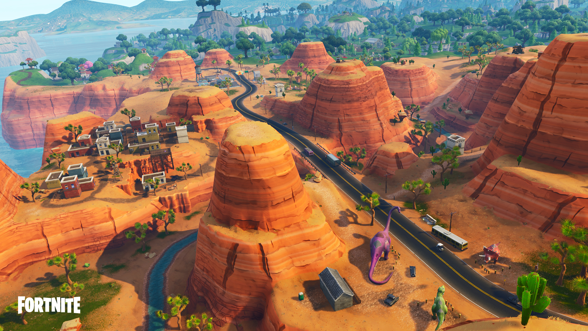 Fortnite Season 5 Map Update