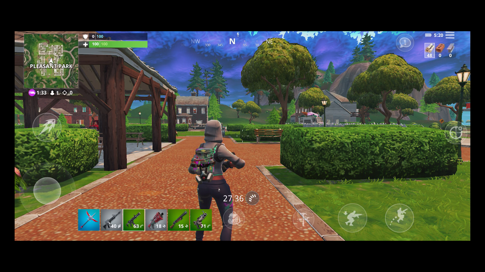 Fortnite Mobile game