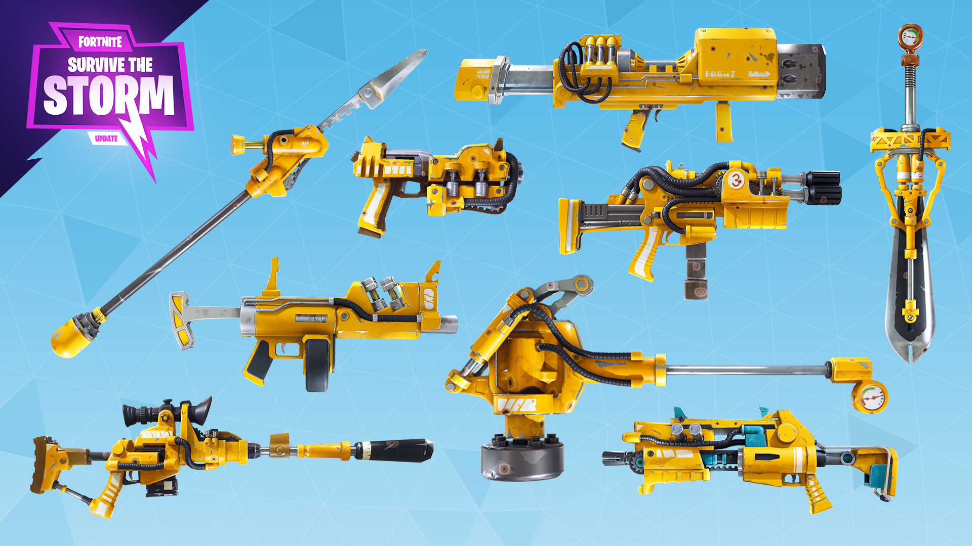 Fortnite%2Fblog%2Fsurvive-the-storm---release-notes%2FENG_Hydraulic-Weapons-1920x1080-ad292f92d2dfc6e13b61351cc6699db28b5a1b2e