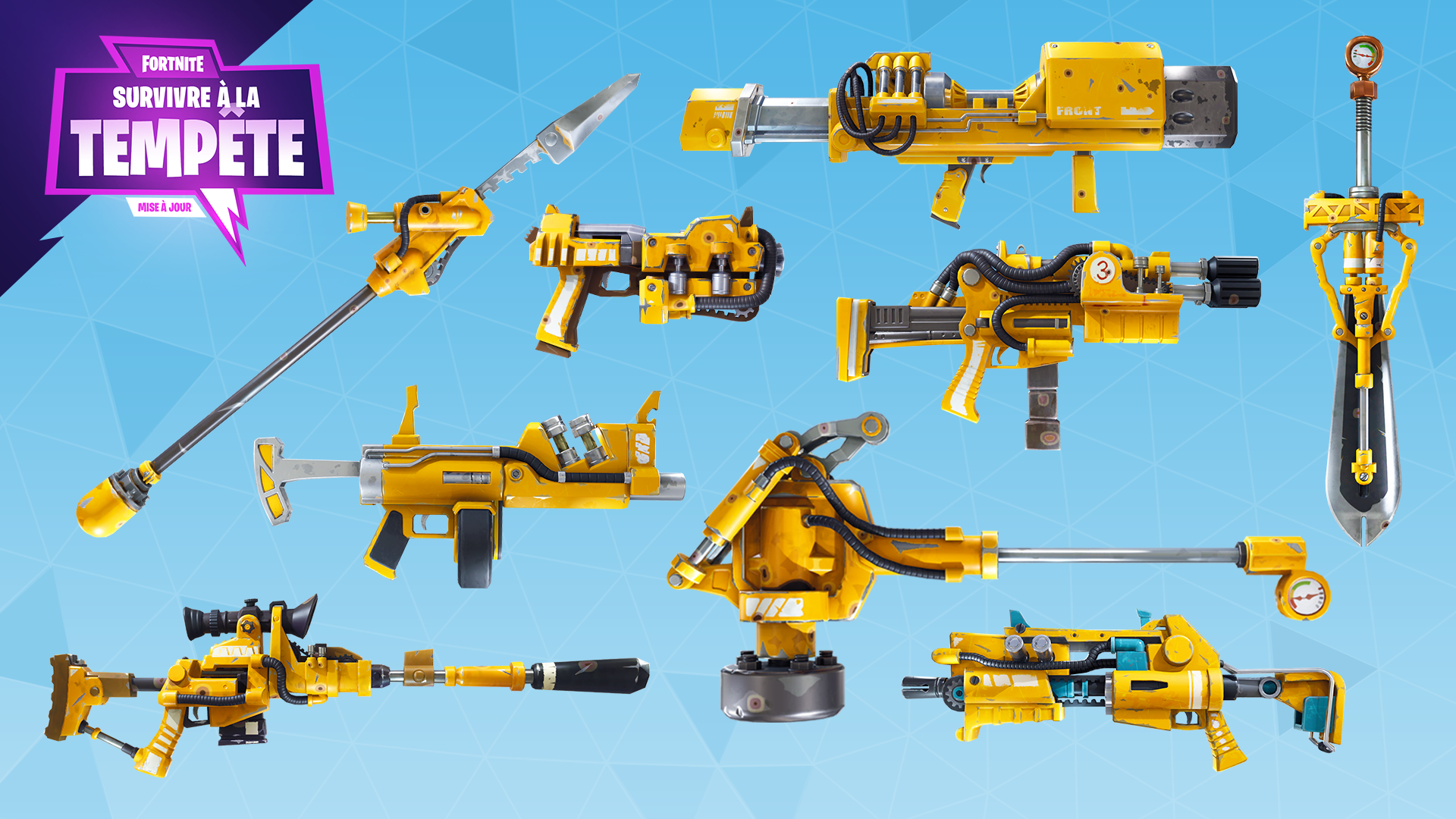 Fortnite%2Fblog%2Fsurvive-the-storm---release-notes%2FFR_Hydraulic-Weapons-1920x1080-0bb3fc5157a1777e6bca4c3afe7ff035517993bd