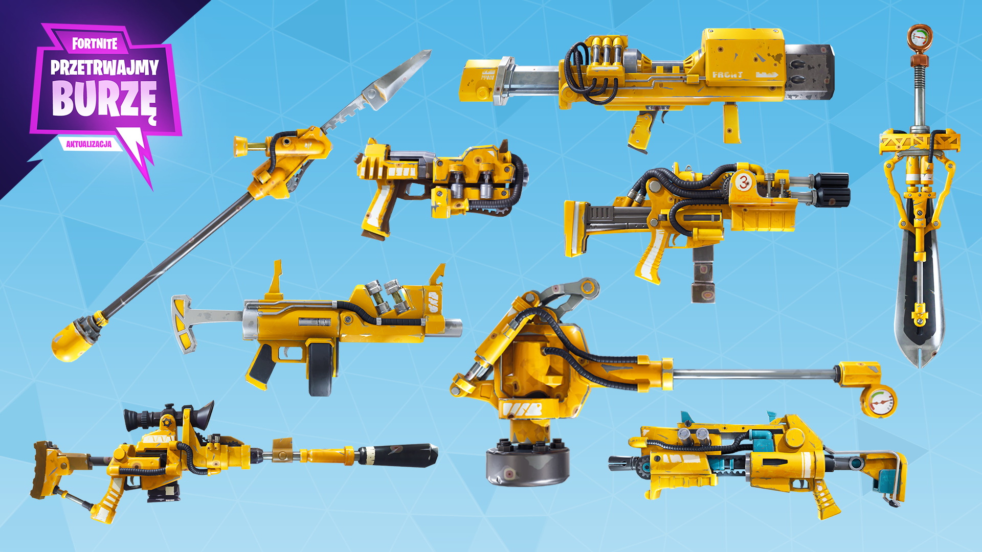 Fortnite%2Fblog%2Fsurvive-the-storm---release-notes%2FPL_Hydraulic-Weapons-1920x1080-e8e8f1e3a209172706a45f09ad5f8184b9ae9fe0