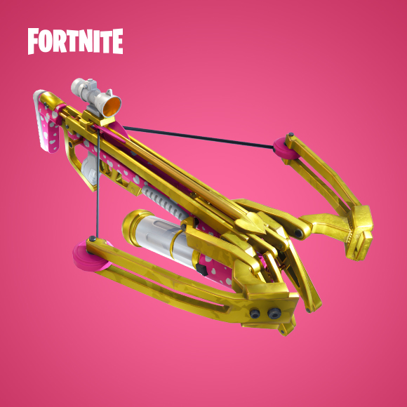 The Brand New Cupid Inspired Crossbow Coming To Fortnite Battle Royale