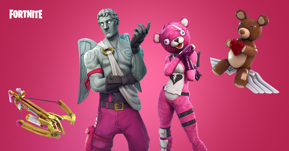 The Brand New Valentine's Day Cosmetics Coming To Fortnite Battle Royale