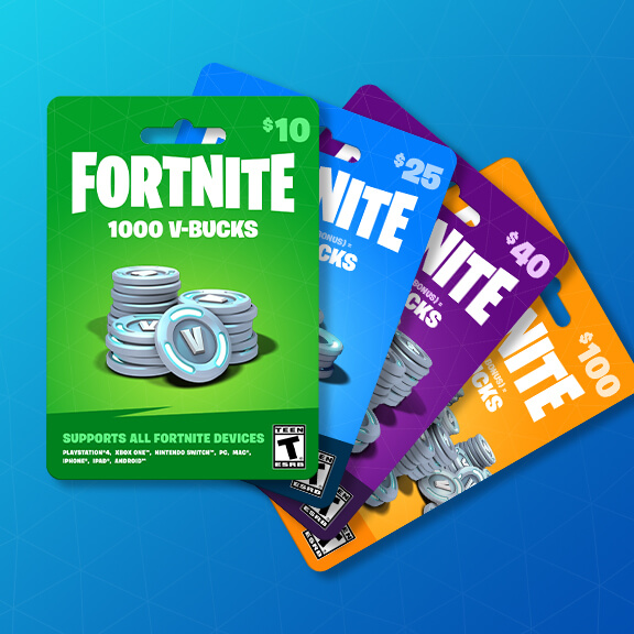 V-Bucks Cards Coming to Retailers Soon