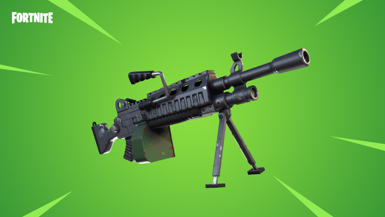 Junto al regreso del modo 50 vs 50, llega la Light Machine Gun para Fortnite Battle Royale