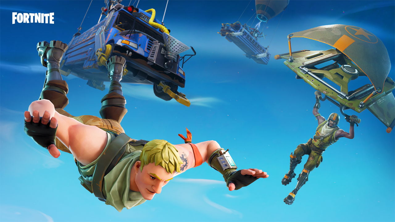 Fortnite freebies say sorry for hit game's downtime
