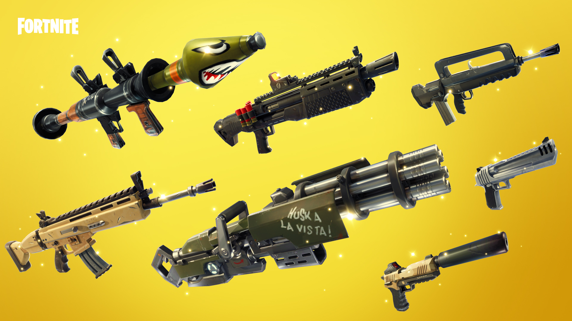 - new gun in fortnite rarity