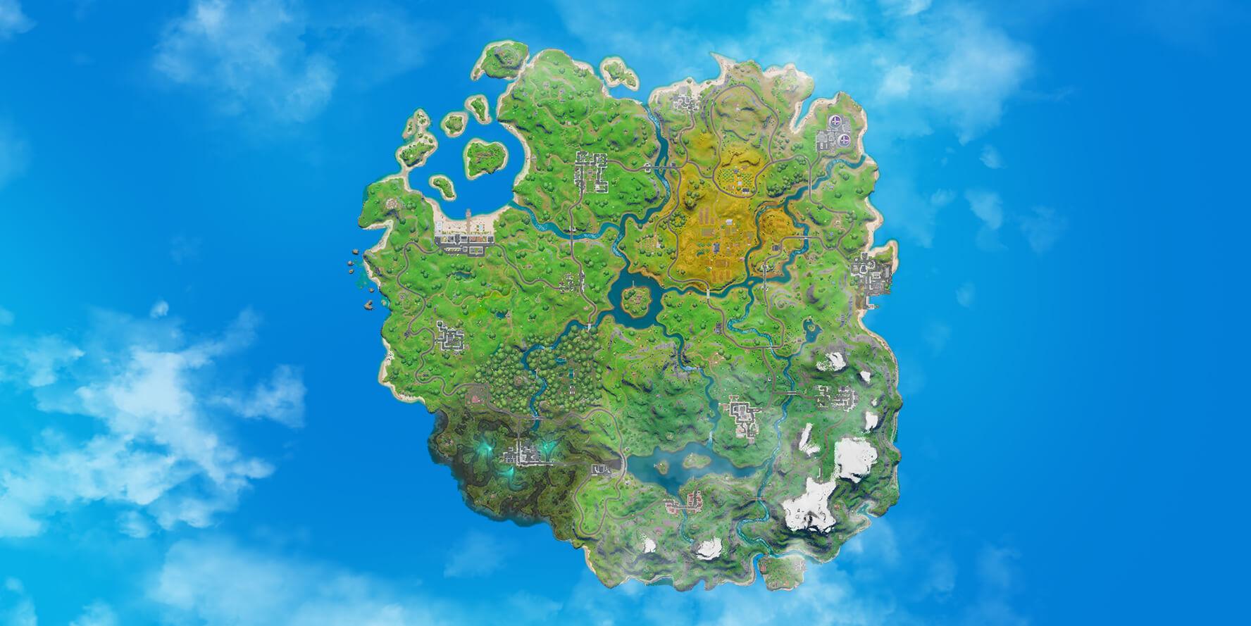 Fortnite%2Fchapter2%2FMAP 1776x889 974816db7b7f4e545cd39920153b88c2ae3544e2 - Fortnite startet Kapitel 2 – Kommt zurück und erlebt die neue Insel