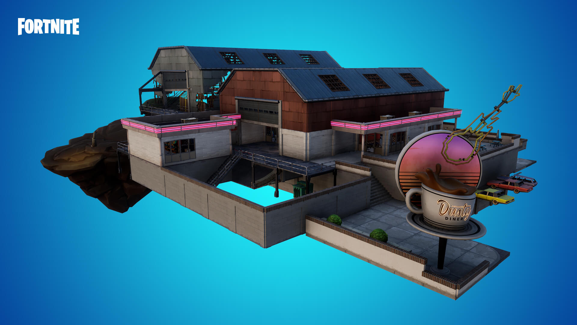 Fortnite%2Fpatch notes%2Fv10 10 content update%2Fcreative header v10 10 content update%2FCreativeDustyPrefabs DustyDiner 1920x1080 1920x1080 0b04477e951a7e6e4396e2bd932d18c1d432e306 - Обновление контента версия 10.10 для фортнайт