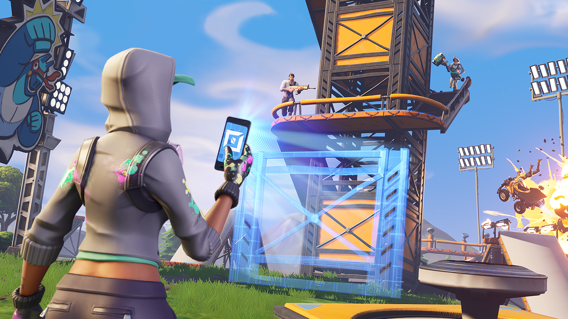 - mise a jour fortnite epic games