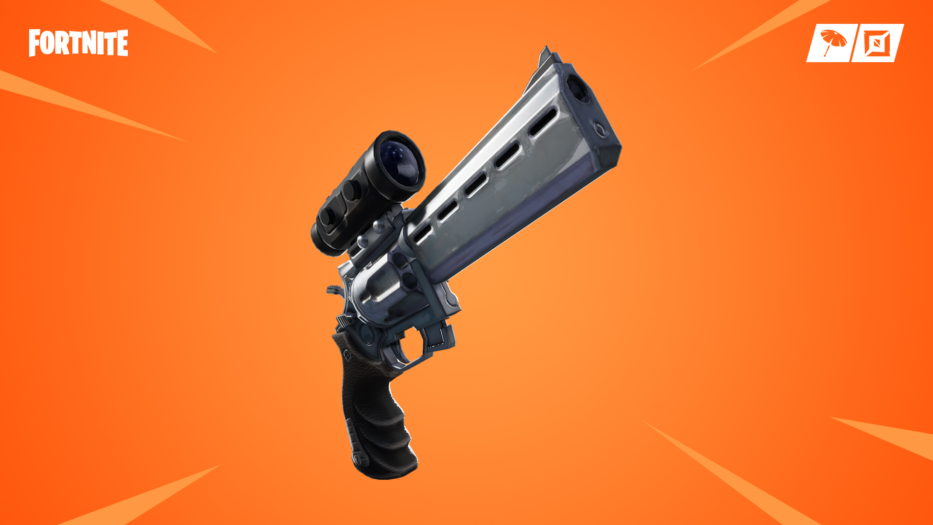 Scoped Revolver in Fortnite