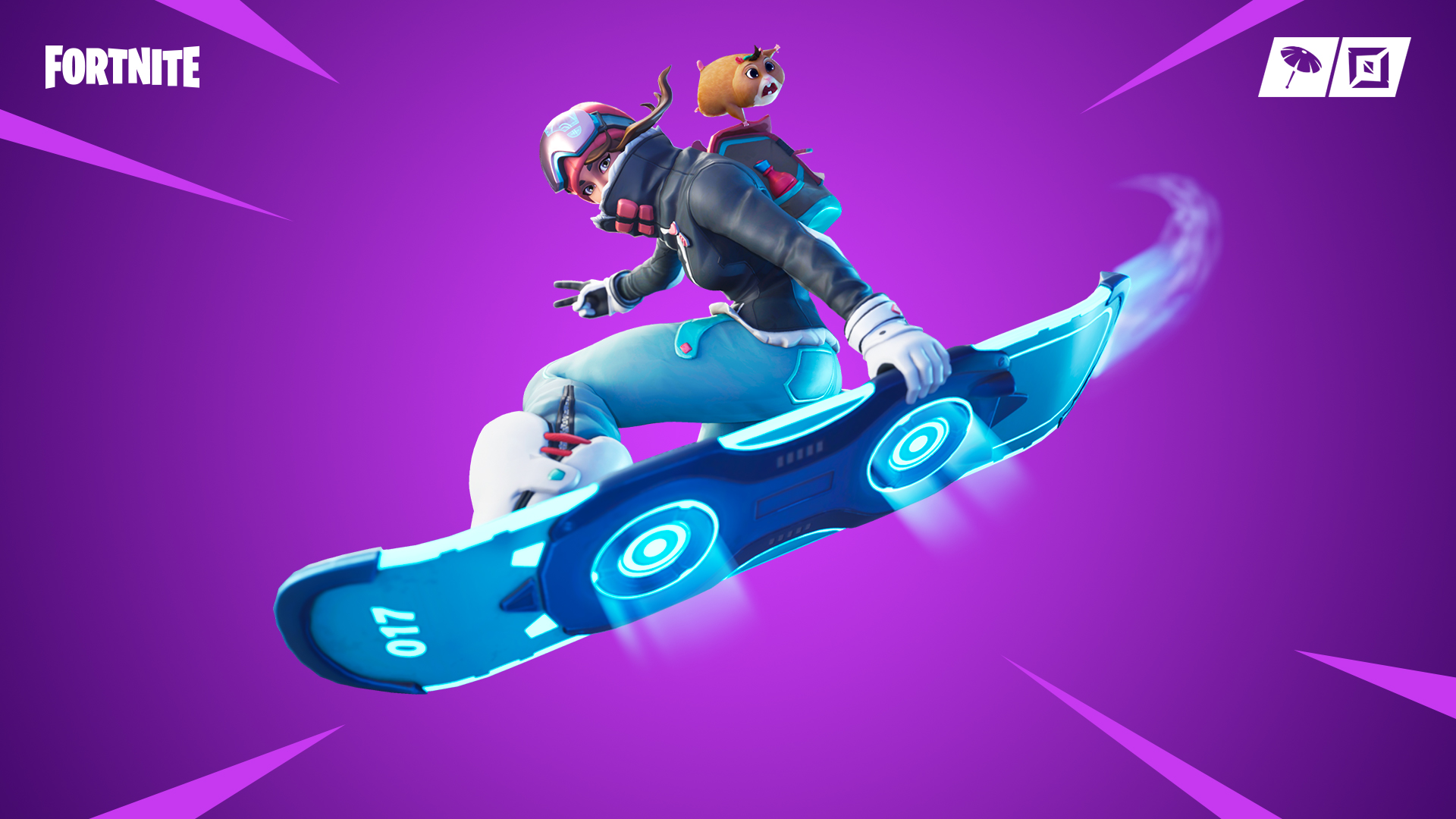 Driftboard in Fortnite overtime challenges