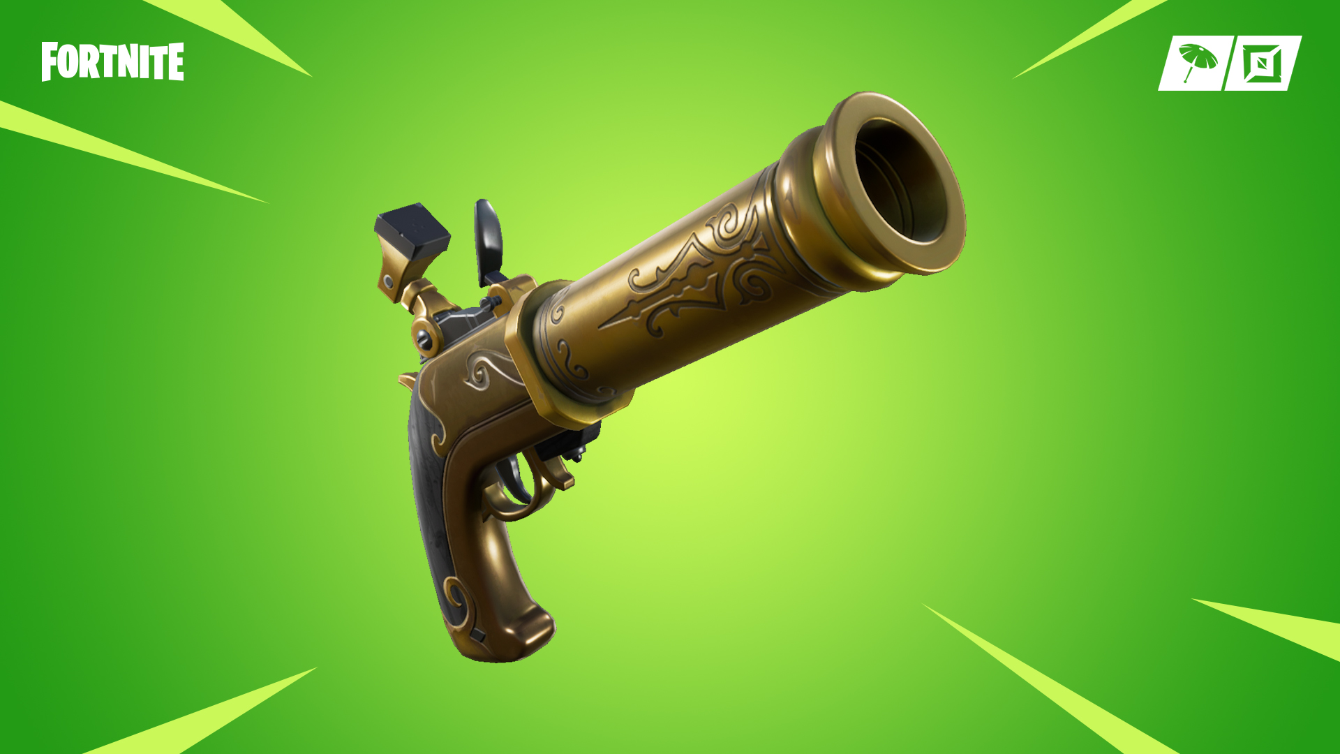 Pistol in Fortnite Week 4 Challenges
