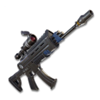 조준경 장착 돌격소총