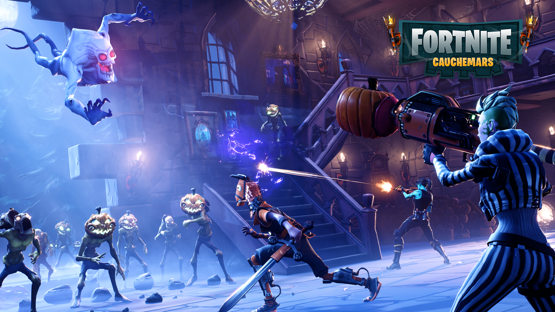 Fortnite par epic games for Fond ecran fortnite