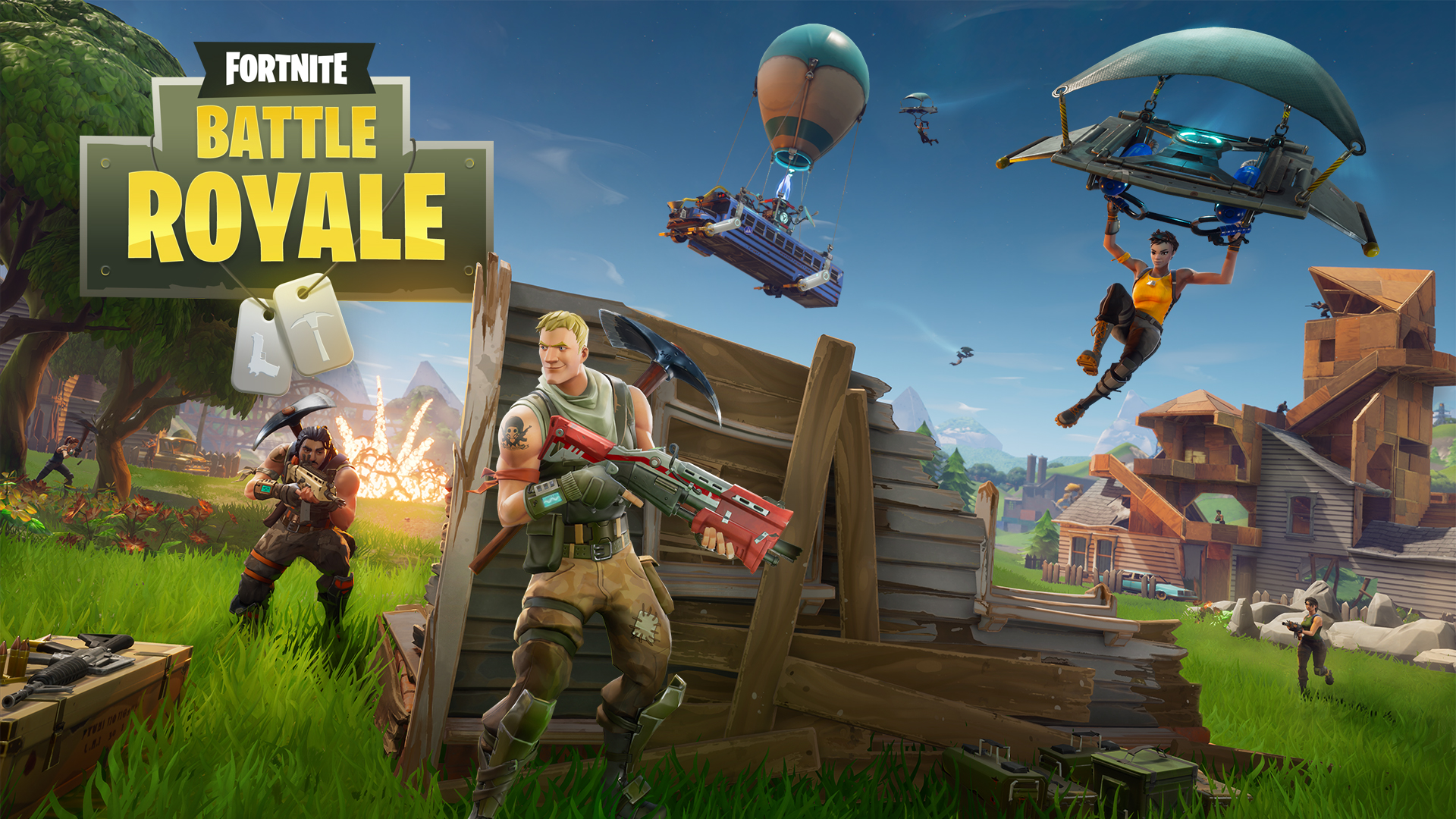 Fortnite terá modo Battle Royale gratuito para todos no ...