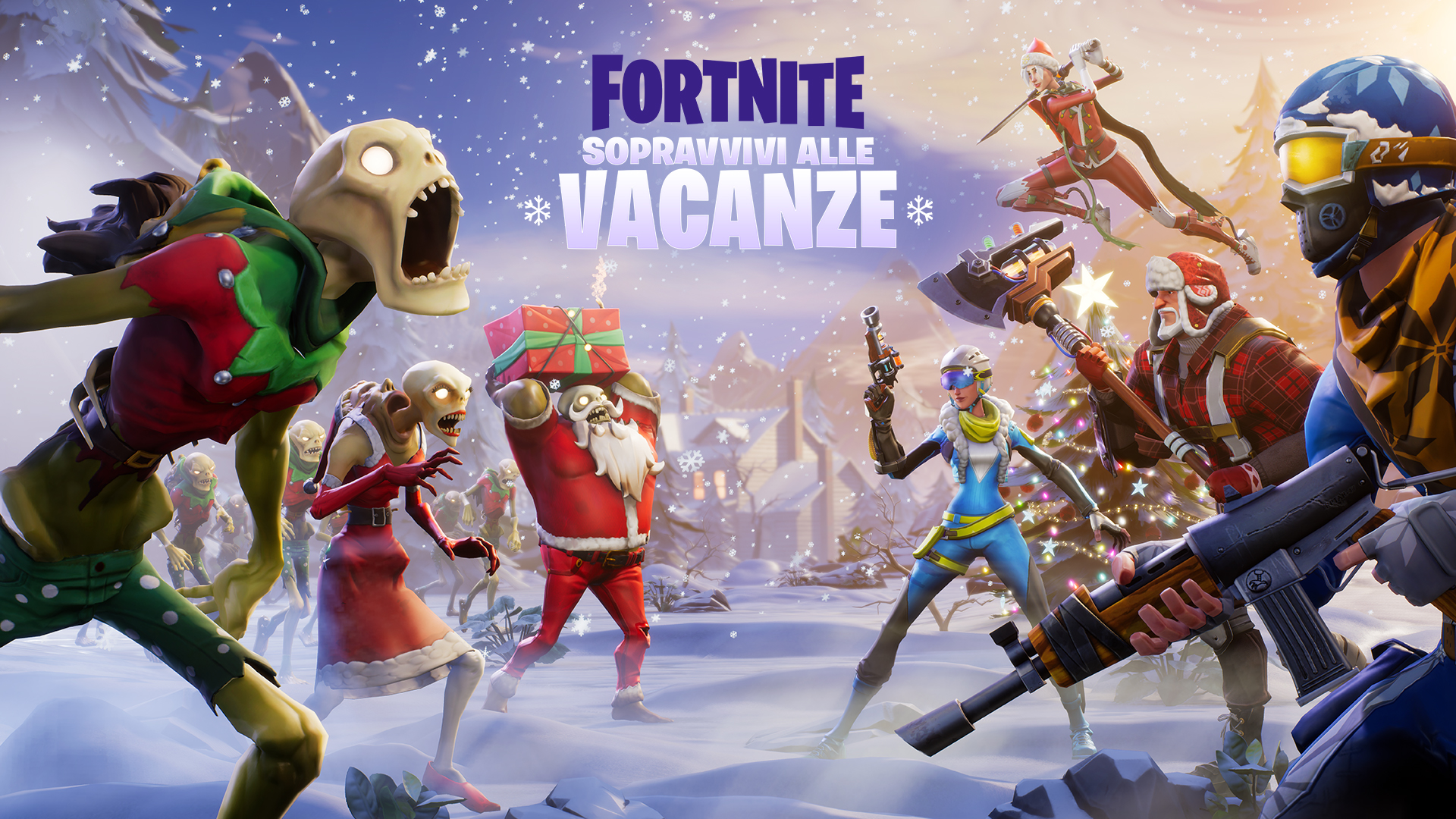fortnite salva il mondo come