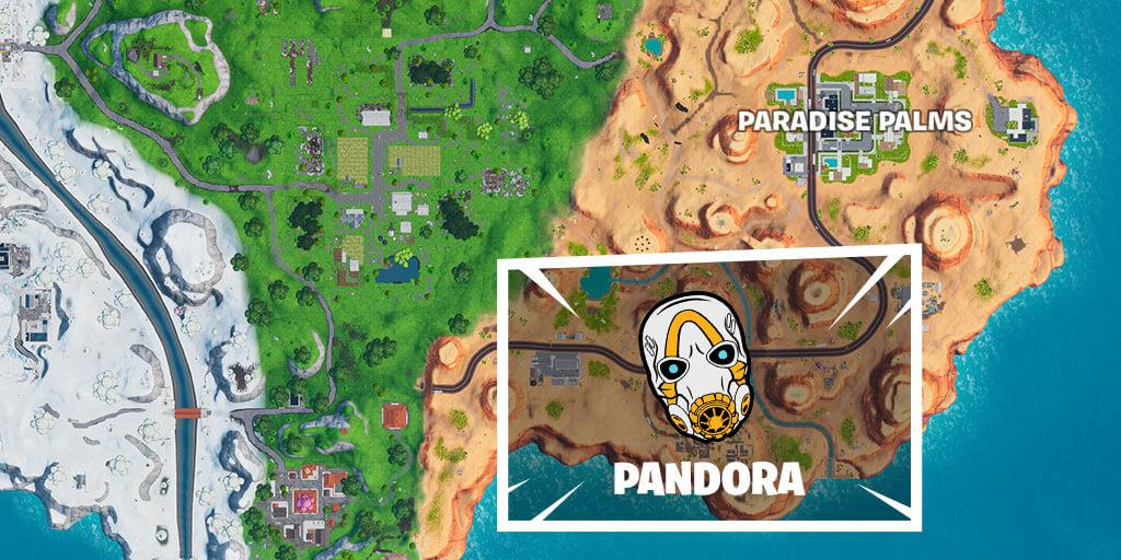 Pandora Rift Zone icon