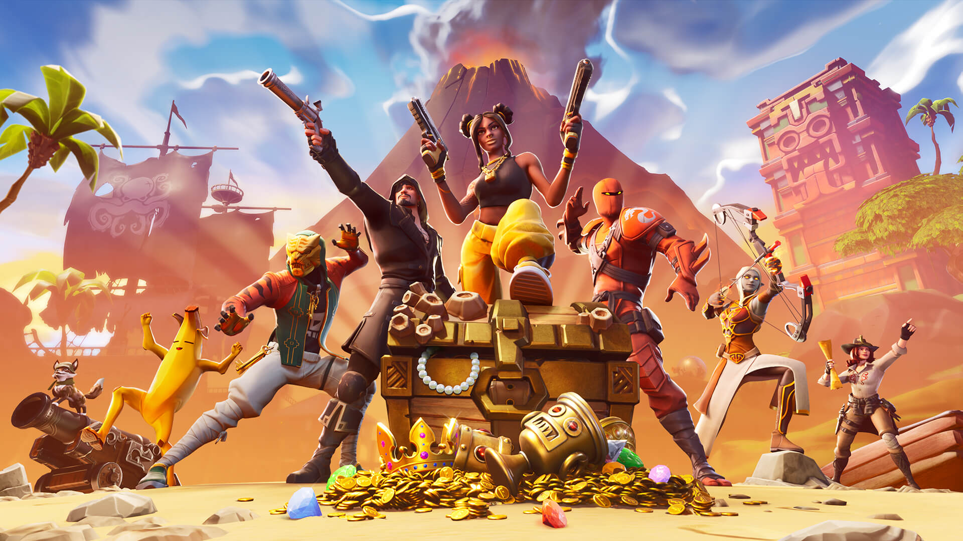date de sortie fortnite free to play