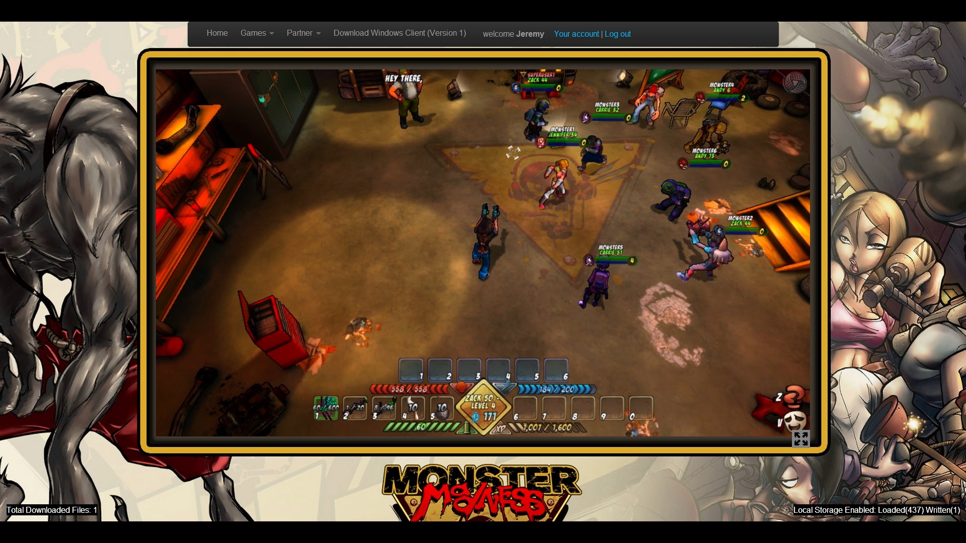 "Unreal Engine 3-Powered ""Monster Madness Online"" Demo Released for"