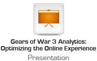 Gears of War 3 Analytics: Optimizing the Online Experience