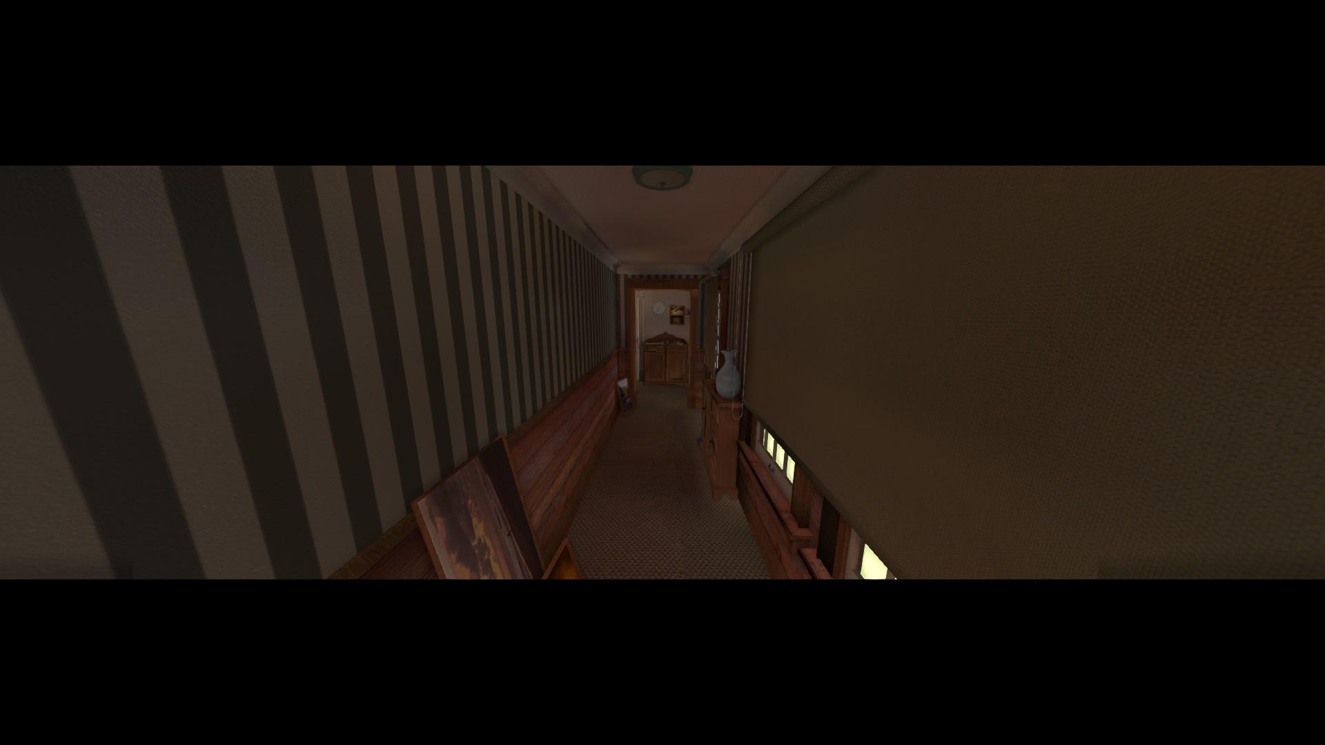 Hallway effects off