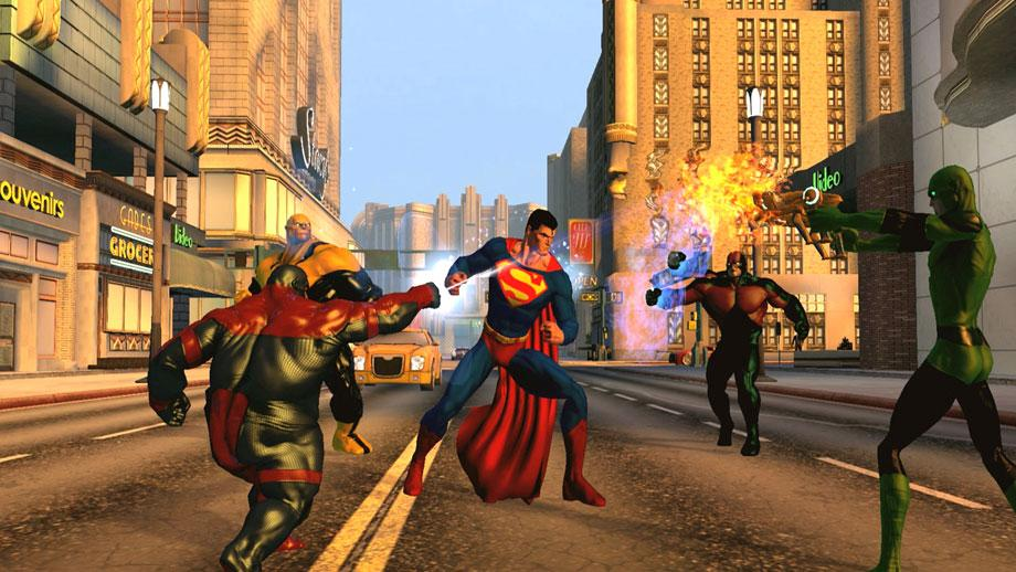 DC Universe Online (Super) Powered by Unreal Engine 3